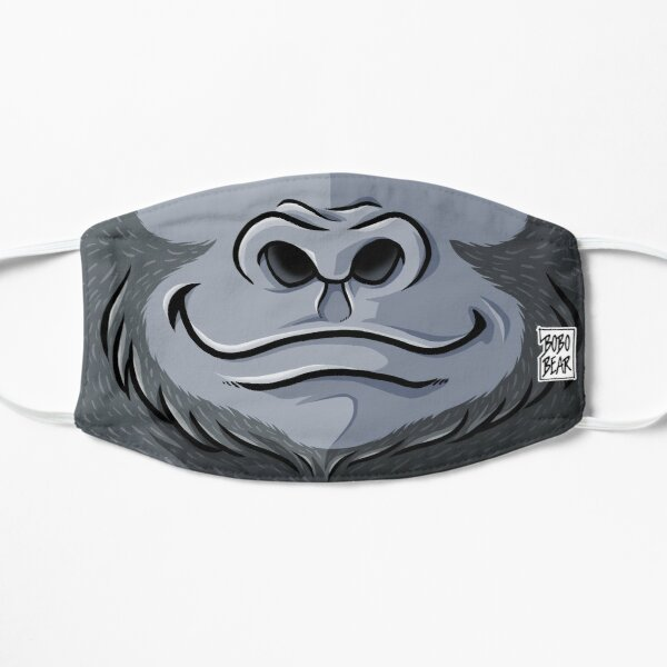GIRTHY GORILLA - BEARZOO SERIES Flat Mask