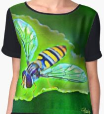 Art Nouveau Wasp Chiffon Top