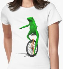 dat boi Women's Fitted T-Shirt