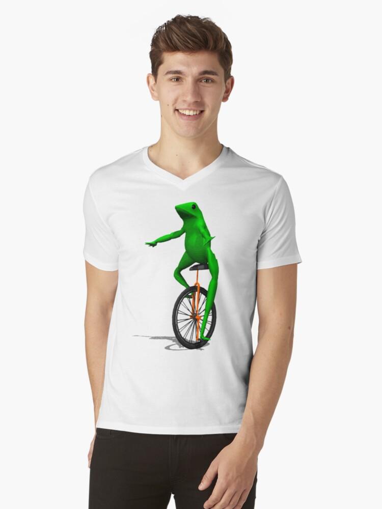 dat boi Mens V-Neck T-Shirt Front