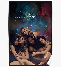 FIFTH HARMONY 7/27 GALAXY COVER Poster