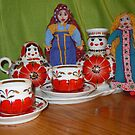 Russian Doll Tea Time by DebiCady