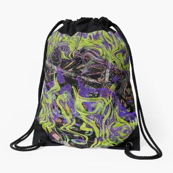 biscribble Drawstring Bag