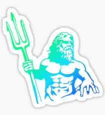 King Neptune Blues Sticker
