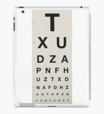 Eye Chart iPad Case/Skin