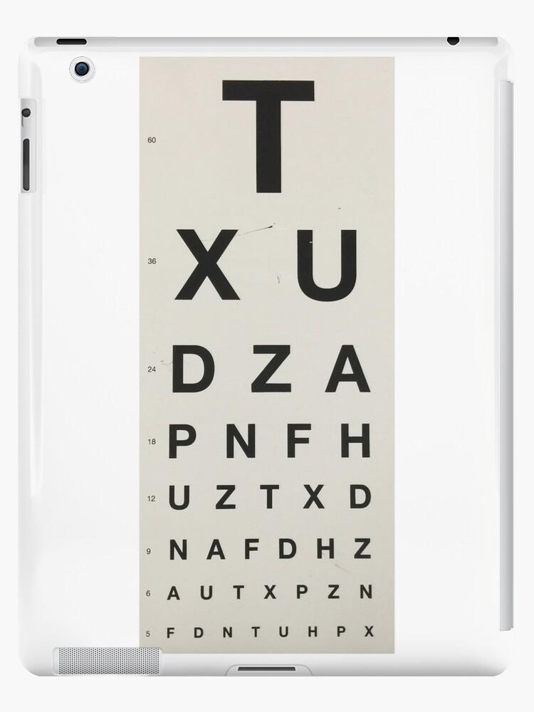 Eye Chart by Shh op!
