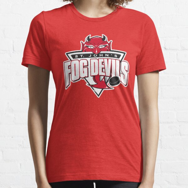 ST. JOHNS FOG DEVILS SHIRT AND STICKER  Essential T-Shirt