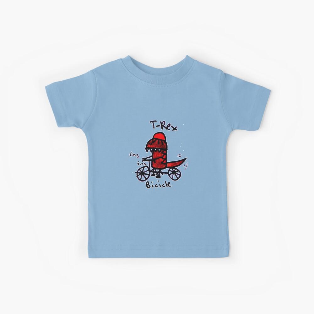Bicicle T-Rex Kids T-Shirt