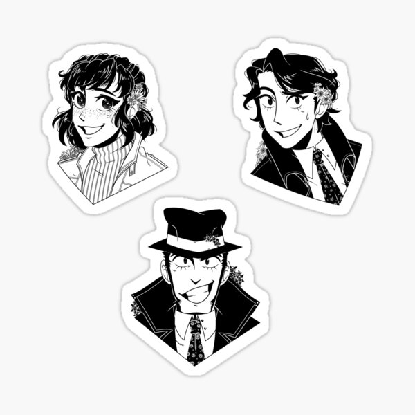 Lupin The Third: Goody-Two-Shoes Set Sticker