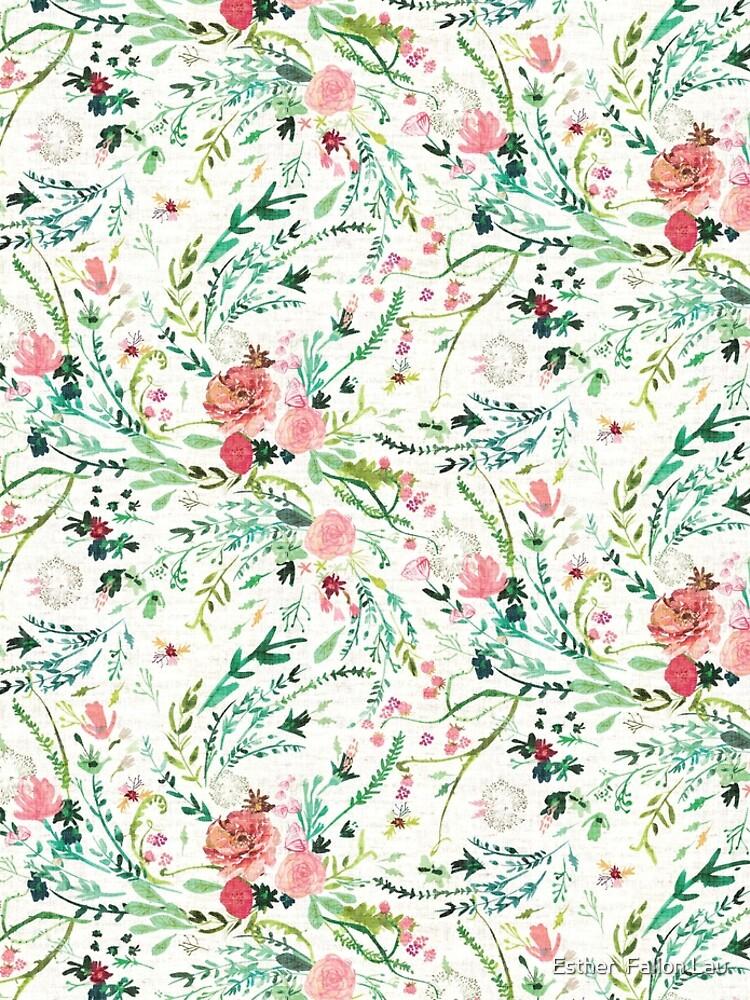 Spring Fable Floral  by nouveaubohemian