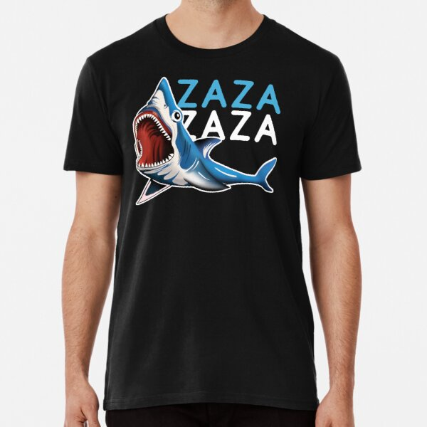 6ix9ine Zaza Shark camiseta negra Camiseta premium