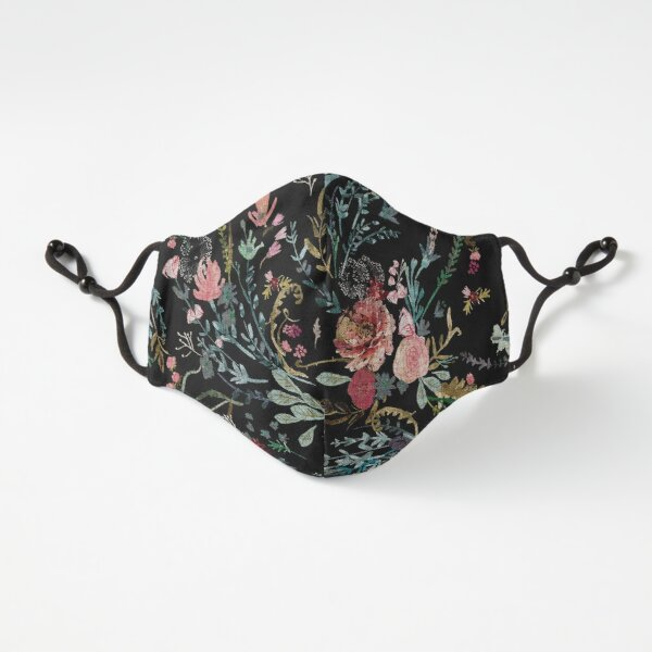 Midnight Floral Fitted 3-Layer