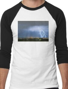 Northeast Colorado Lightning Strike and City Lights Men's Baseball ¾ T-Shirt