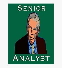 John Giles: Senior Analyst Photographic Print
