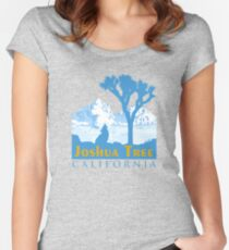 Joshua Tree National Park. Women's Fitted Scoop T-Shirt