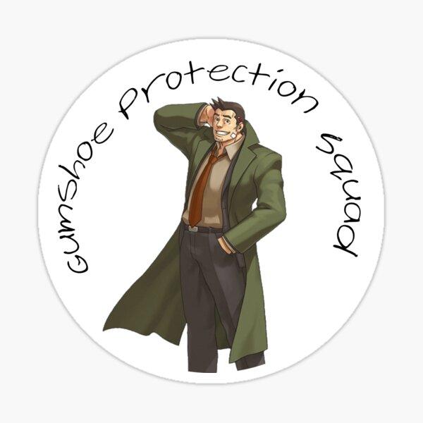 Gumshoe Protection Squad Sticker