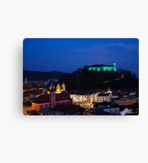 Ljubljana Castle Canvas Print