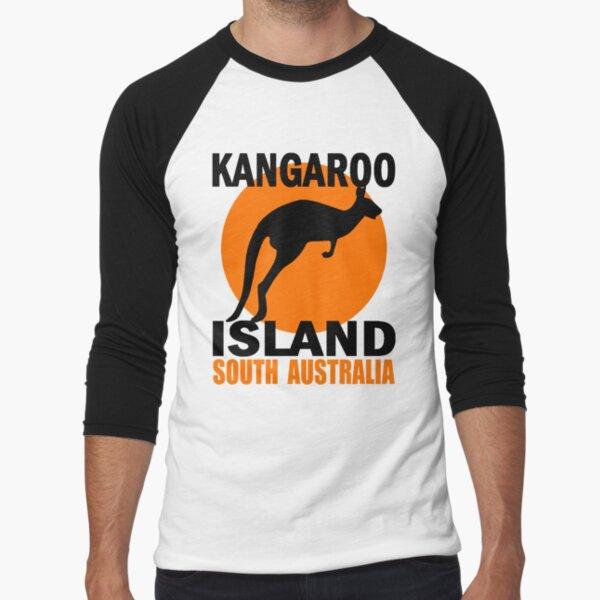 KANGAROO ISLAND Baseball ¾ Sleeve T-Shirt