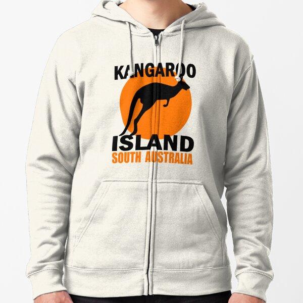 KANGAROO ISLAND Zipped Hoodie