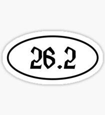 Harry Potter Inspired Marathon 26.2 Sticker Sticker