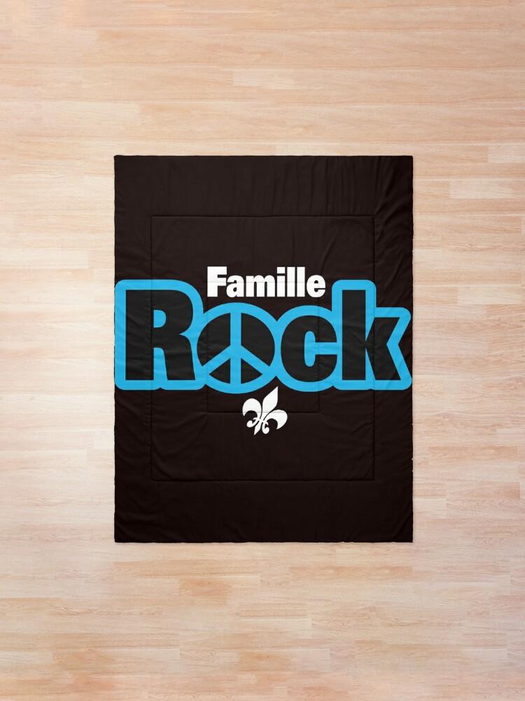 Couvre-lit ''Famille Rock Logo Boutique': autre vue