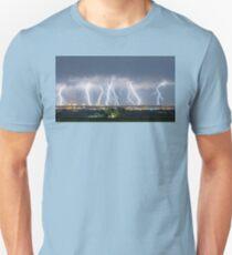 Severe Thunderstorm Panorama T-Shirt