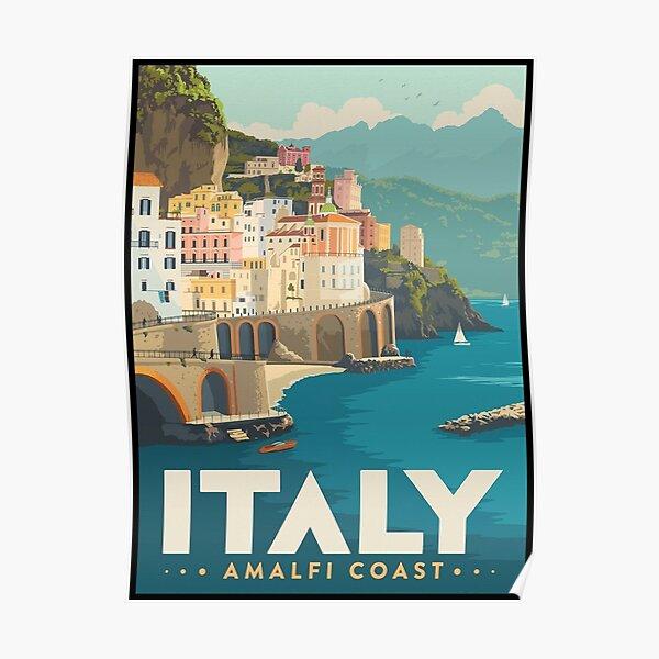 Italy Amalfi Coast Poster