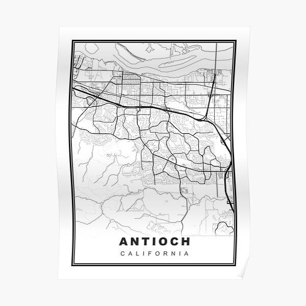 Antioch Map Poster