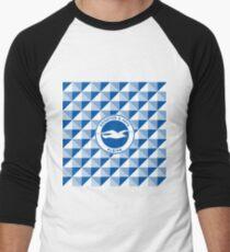 Brighton & Hove Albion football club Men's Baseball ¾ T-Shirt