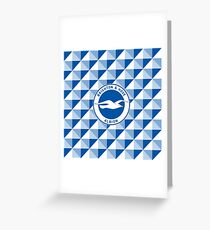Brighton & Hove Albion football club Greeting Card