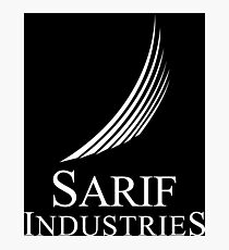 Sarif Industries Logo (White) Photographic Print