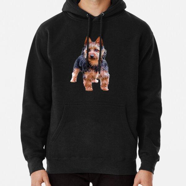 Australian Terrier Pullover Hoodie