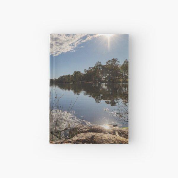 Kennington Reservoir Landscape Photos Hardcover Journal