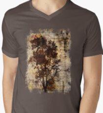 Trees sing of Time - Vintage Mens V-Neck T-Shirt