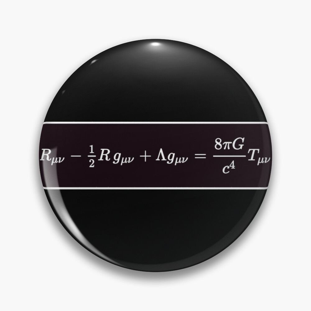 Einstein Field Equations, ur,pin_large_front,square,1000x1000