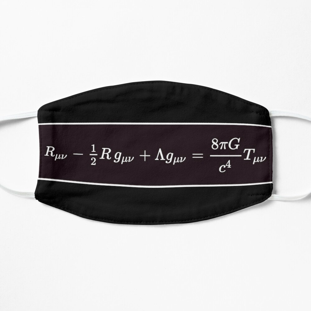 Einstein Field Equations, ur,mask_flatlay_front,product,1000x1000