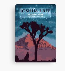 Joshua Tree National Park. Canvas Print