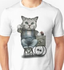 ICE CREAM SELLER Unisex T-Shirt