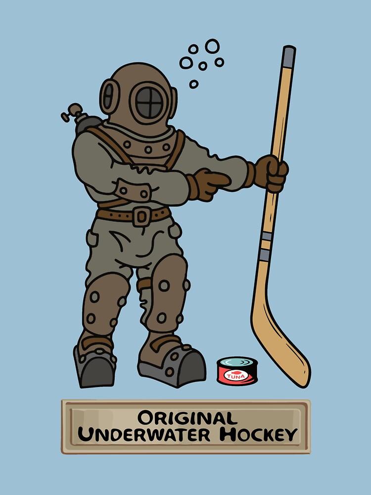 Original Underwater Hockey Diving Bell by BOLD-Australia