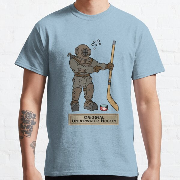 Original Underwater Hockey Diving Bell Classic T-Shirt