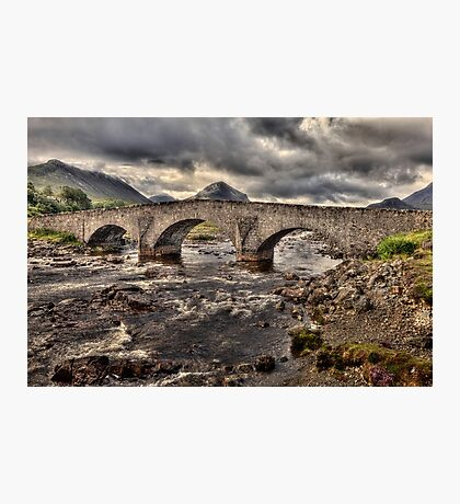 Sligachan Bridge Photographic Print