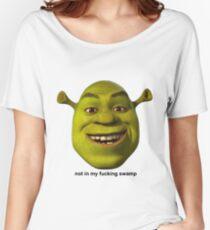 Not In My Swamp - Shrek Women's Relaxed Fit T-Shirt