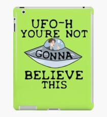 UFO - H iPad Case/Skin