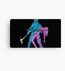 Hotline Miami: Do you like hurting other people? Canvas Print