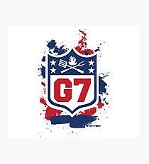 Gridiron Graffiti – Team G7 Photographic Print