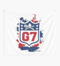 Gridiron Graffiti – Team G7 Wall Tapestry