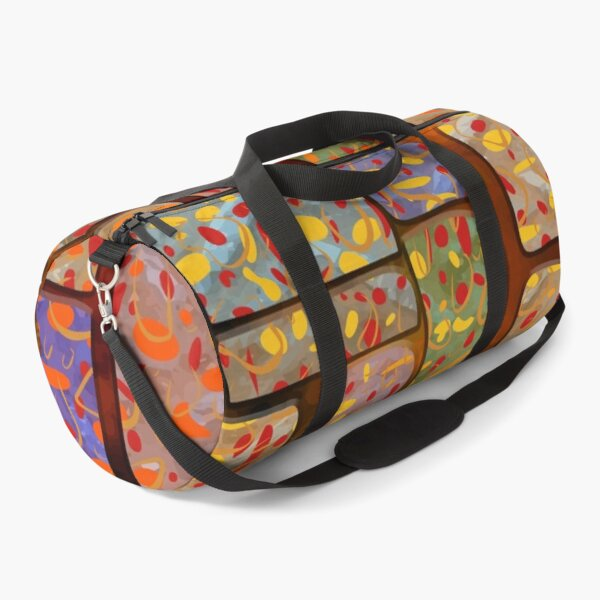 Squares Patern Design For Covers  Duffle Bag