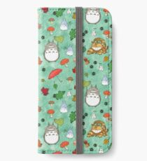 My Neighbour in mint iPhone Wallet/Case/Skin