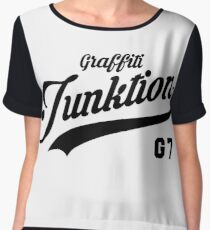 Team Graffiti G7 (Black) Chiffon Top