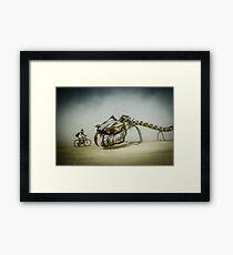 The Serpent Mother Framed Print